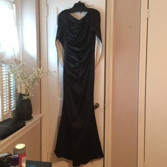 Nicole Miller Dresses | Black Gown | Poshmark
